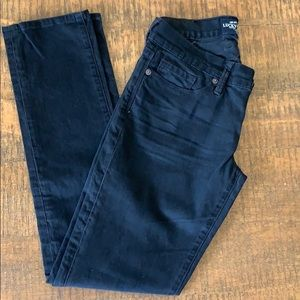 Lucky Brand Cate Stacked Skinny Jeans, 2/26 Black